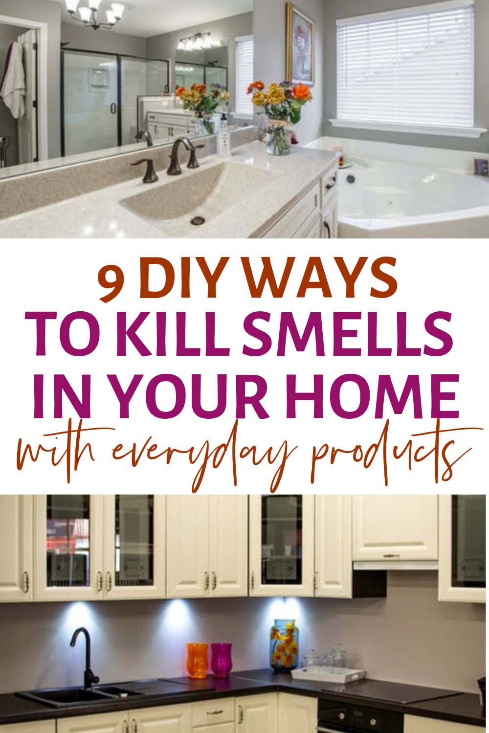 9 Diy Ways To Kill Smells In Your Home With Everyday Products