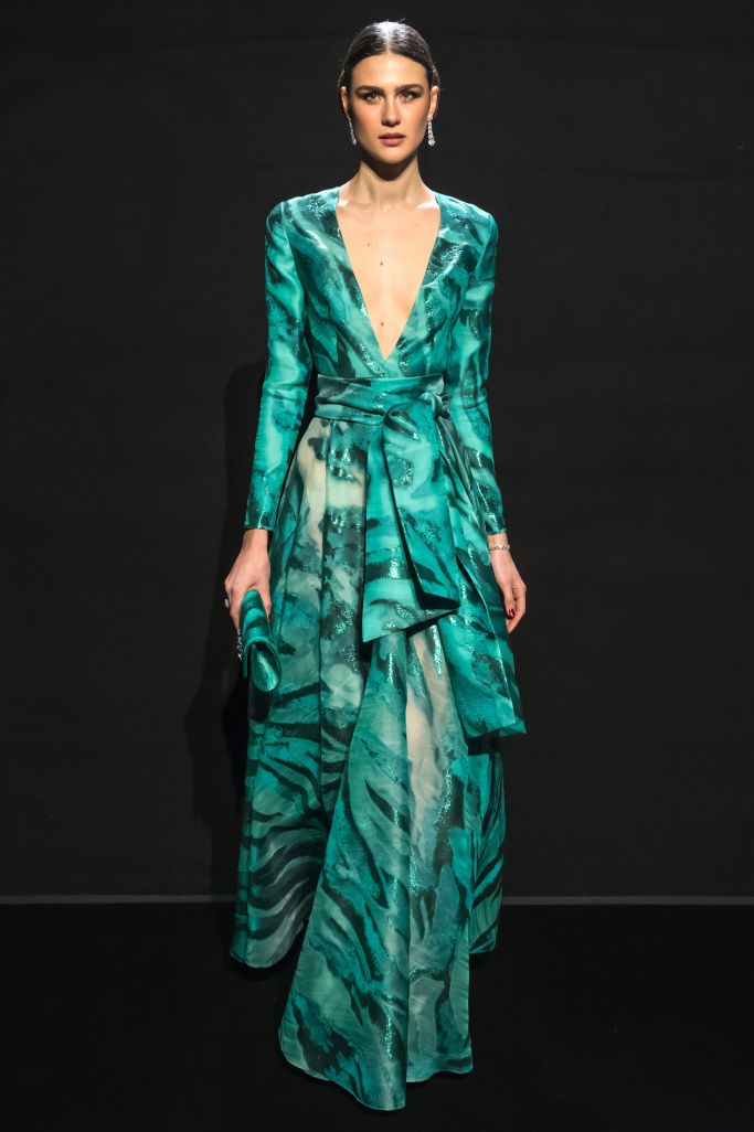 d0400a02495 Loris Azzaro Couture Spring 2017 – WWD