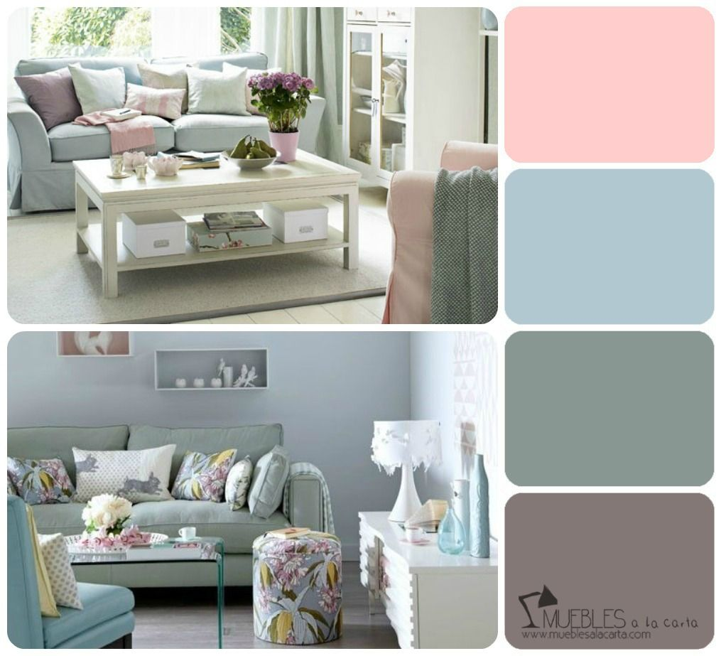 Salones colores de moda buscar con google decoracion - Color pintura salon ...