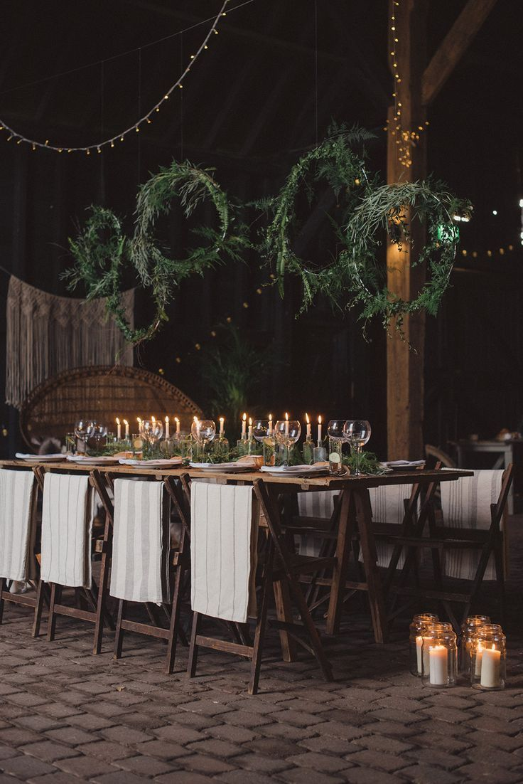 Winter Wedding Inspiration A Rustic Styled
