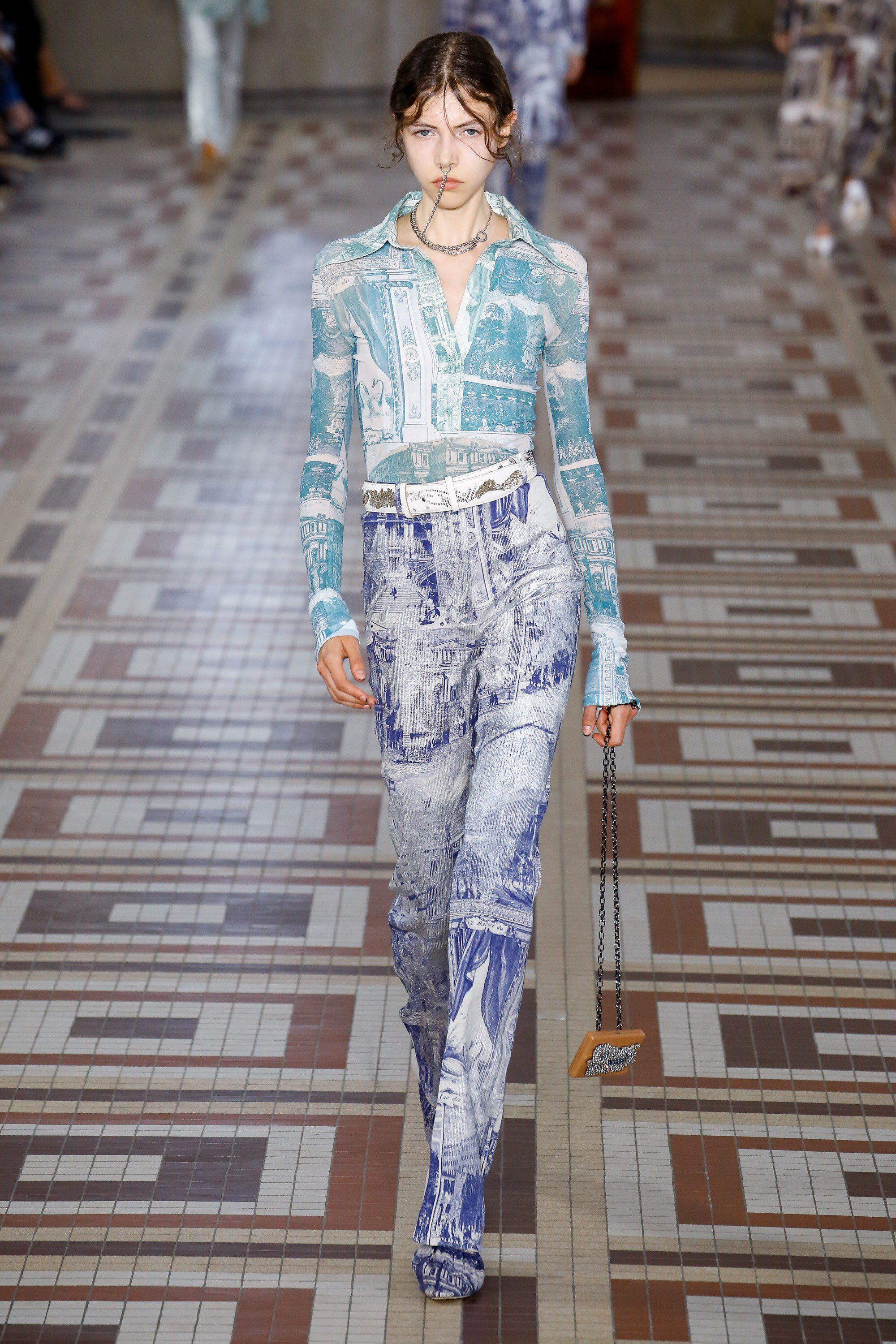 The Prints To Wear In Spring 2019 According To NYFW Runways