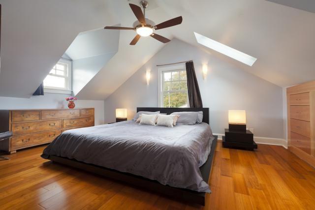 Building Codes For Converted Attics Attic Rooms Attic Master Bedroom Bedroom Addition