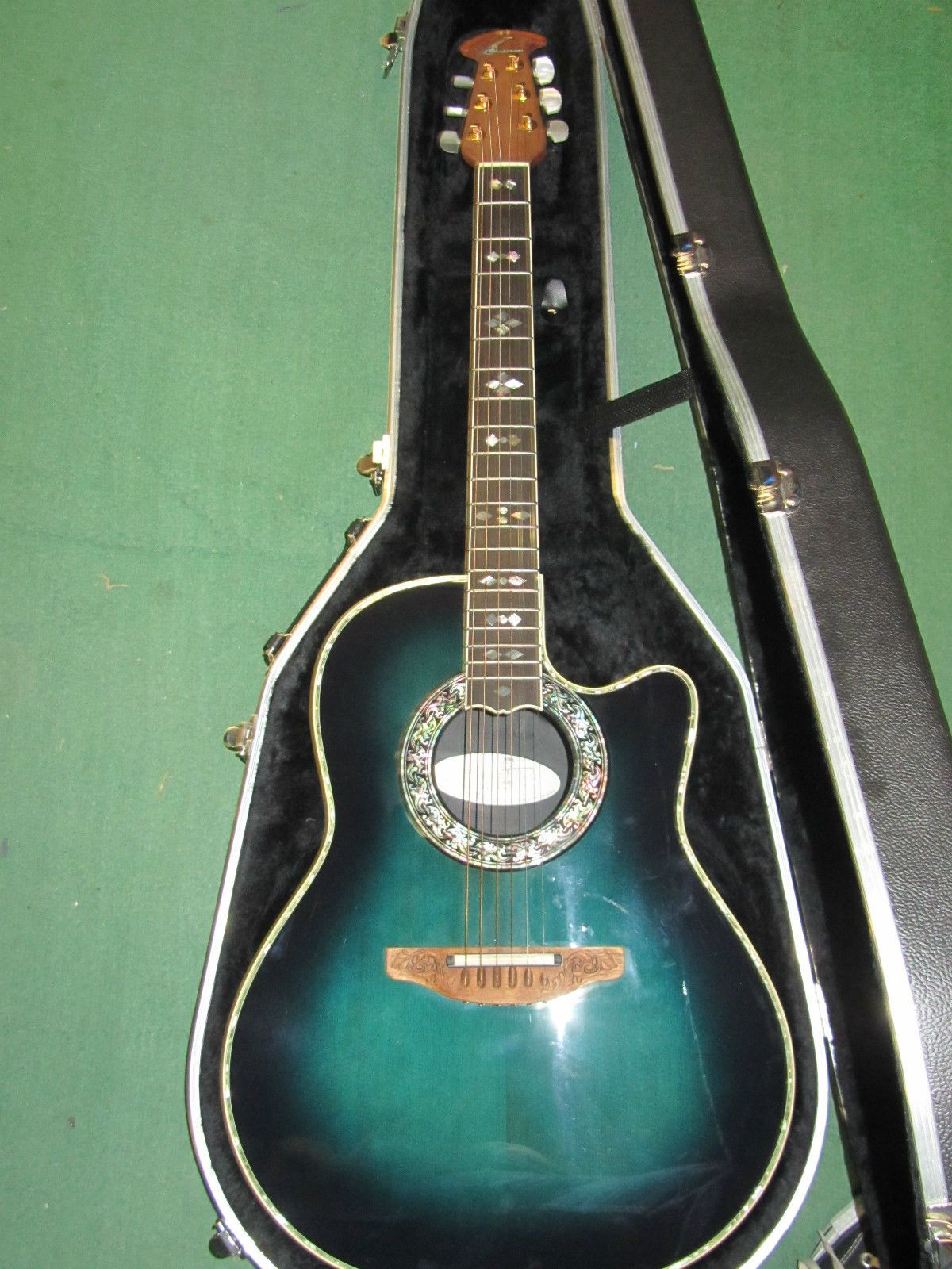 Ovation 1769 Custom Legend Acoustic Electric Guitar Beautiful Ovationguitars Ovation Guitar Guitar Electric Guitar Design