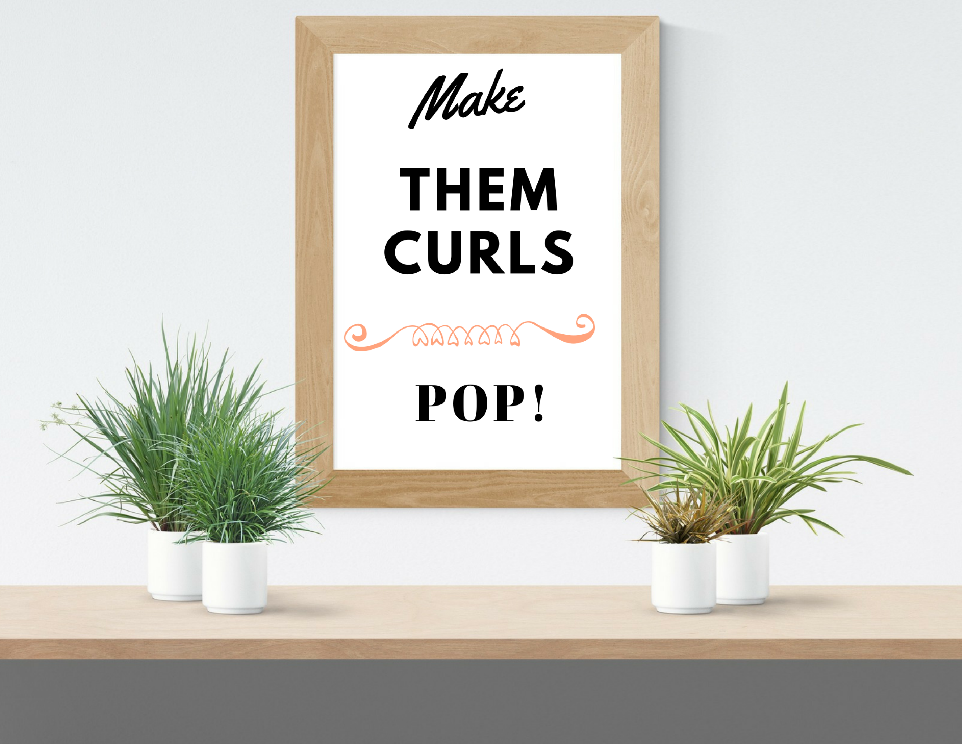 Get these 3 hair quote frames give the impression of being somewhere ...