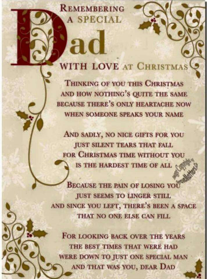 Remembering Dad At Christmas Miss You Family Quotes Heaven In Memory  Christmas Christmas Quotes Christmas Quote Christmas Quotes About Losing  Loved Ones ...