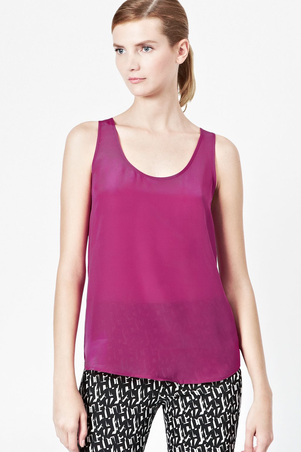 French Connection silk top