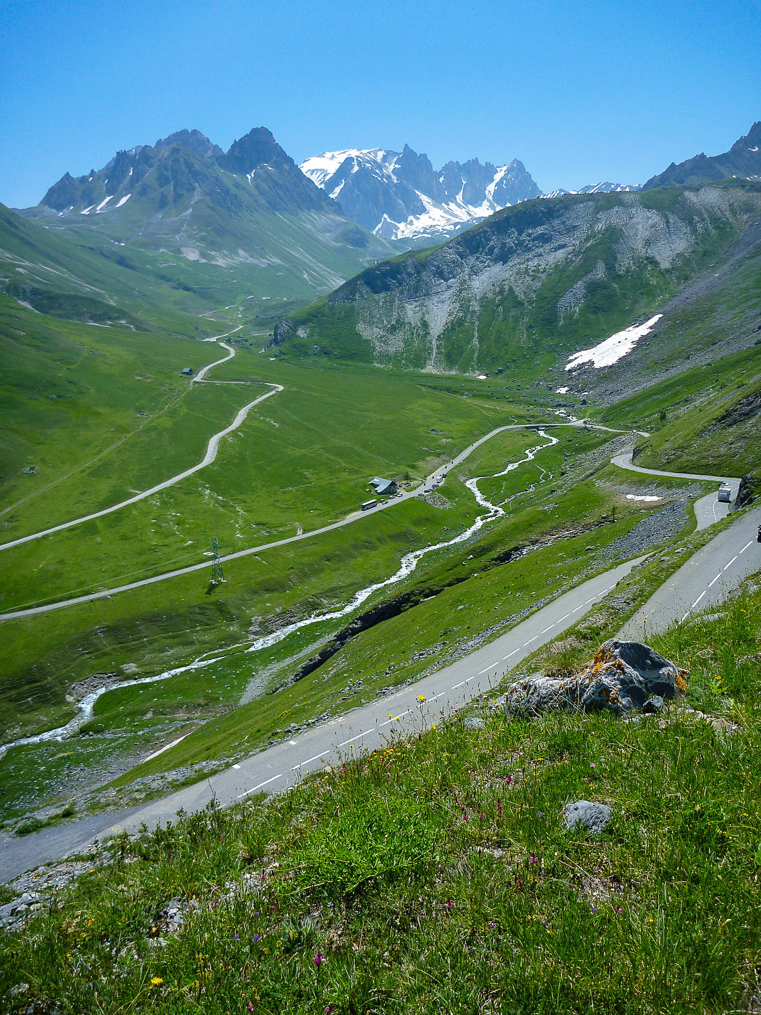 Col Du Galibier Tour De France : galibier, france, Climbing, Galibier, During, Scenic, Roads,, Places, Travel,, Italy, Travel