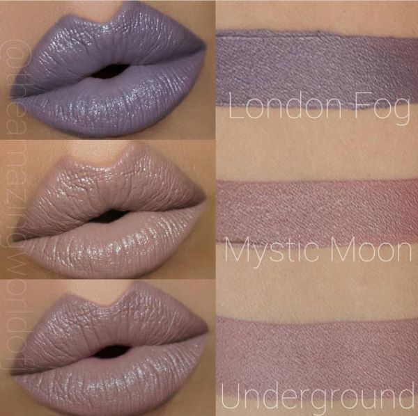 Gerard Cosmetics Fall Lippy Love The Color Underground Makeup