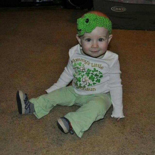 Shamrock St. Patrick's Day headbands!