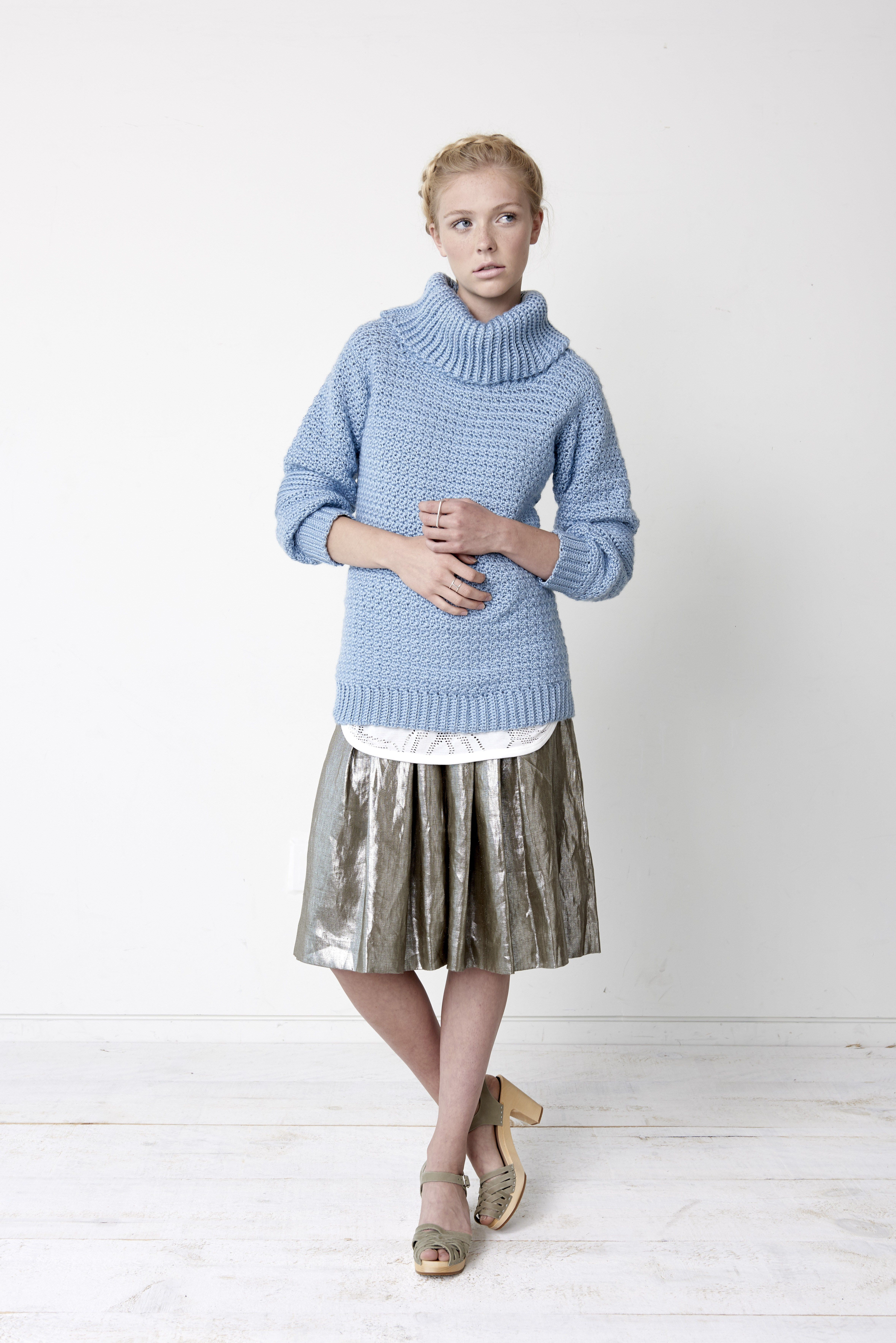 Crochet Sweater Patterns that Look like Knit