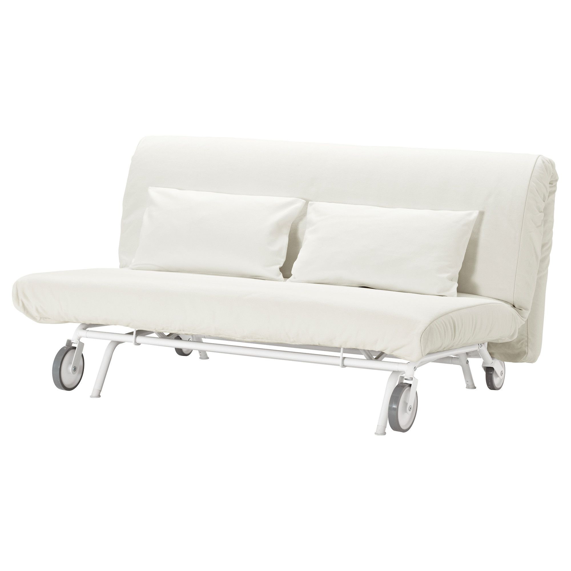 IKEA PS L–V…S Two seat sofa bed Gräsbo white