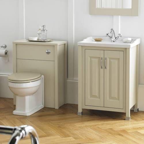 Hudson Reed Ensemble Meuble sous Lavabo 800mm  Toilette WC Old