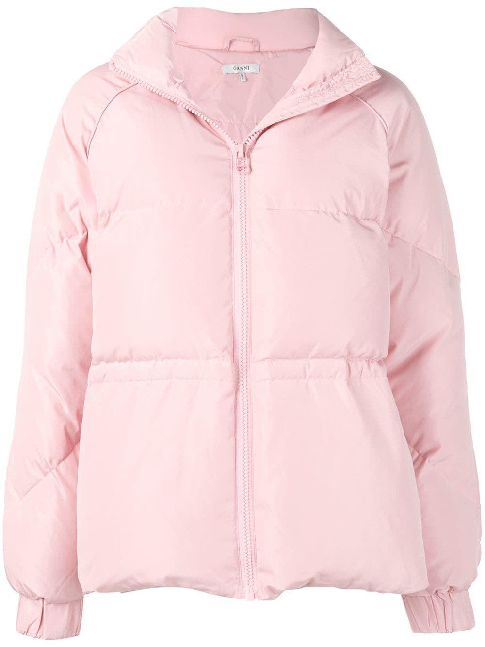 Ganni Tech Down Puffer Jacket Farfetch Puffer Jacket Women Puffer Jackets Jackets For Women [ 1334 x 1000 Pixel ]