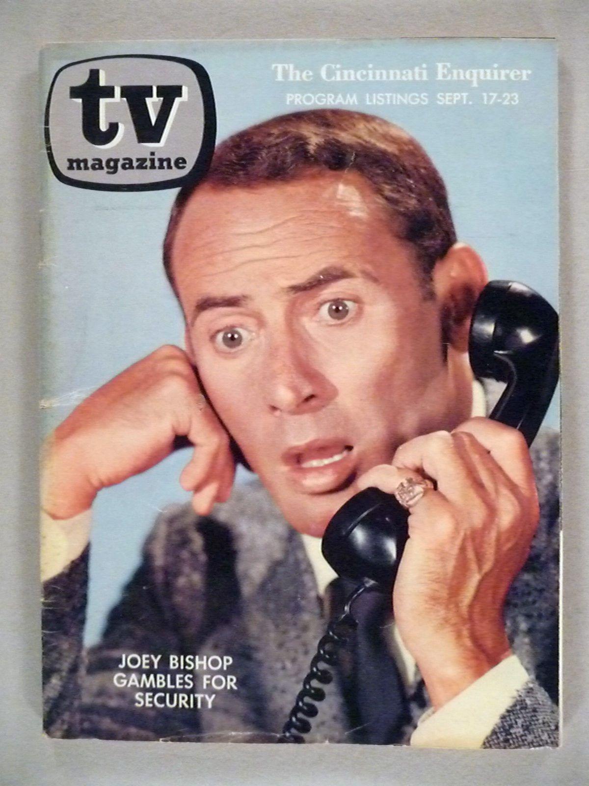 Sep 17-23, 1961 - joey bishop - cincinnati enquirer tv guide.