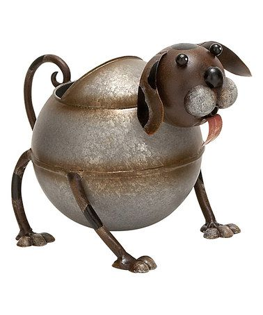 Another great find on #zulily! Metal Dog Watering Can #zulilyfinds