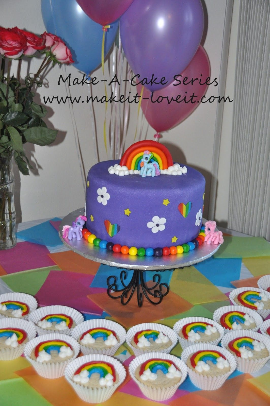 My Little Pony Cake Topper Cakes And Cupcakes Pinterest Pony