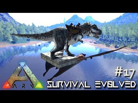 ARK Survival Evolved - TREX SURFING QUETZALCOATLUS \ TAMING- Ep 17 - new blueprint ark survival