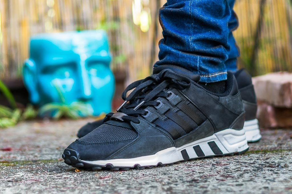 37a8ad5b968 Check out my video review of these Adidas EQT Support RF Core Black Milled  Leather and find out where to grab a pair for yourself!