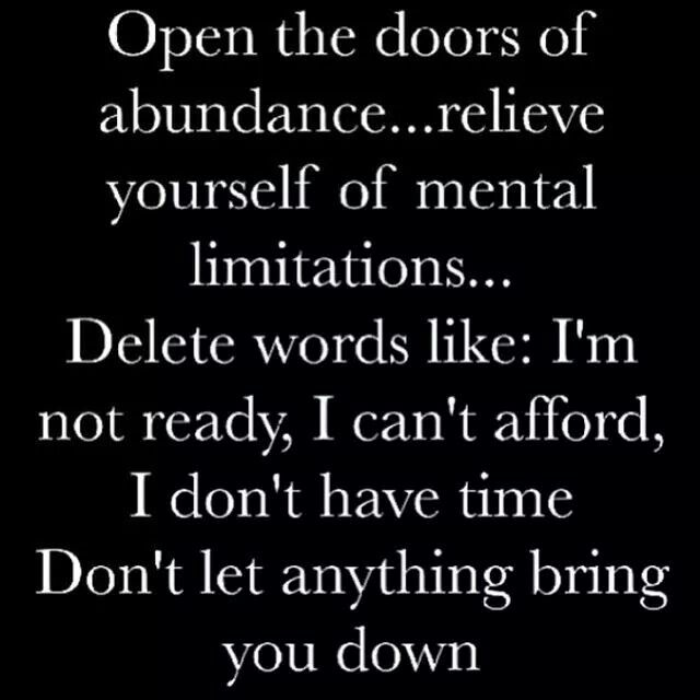 Open Door To Abundance Motivation Pinterest Quotes Words And Interesting Open Door Quotes