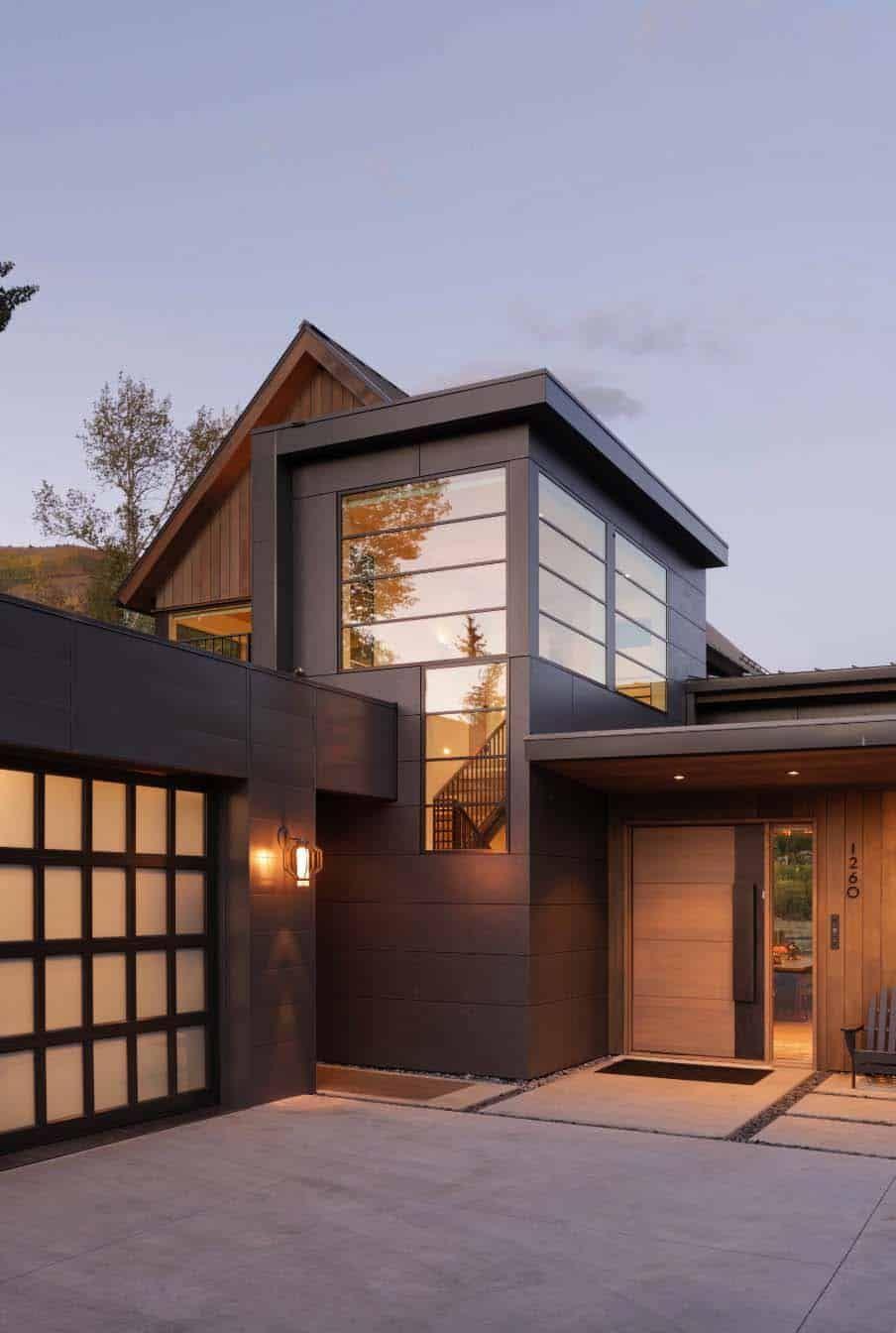 Contemporary Home In Colorado Delivering Idyllic Mountain Views