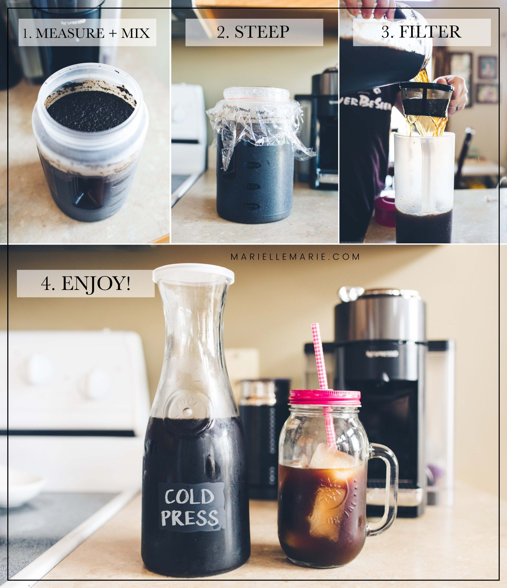 Copycat Caribou Cold Press Iced Coffee Recipe Caribou