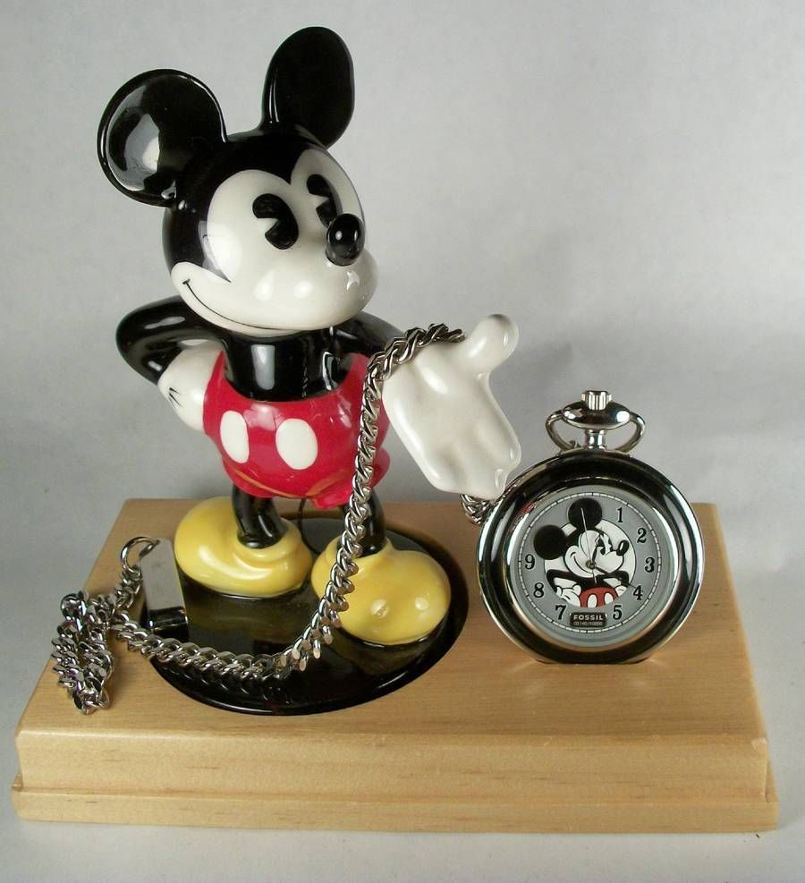 58d16e147 Disney Fossil Limited Edition Mickey Mouse Pocket Watch | Love my ...