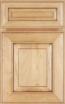 Verona Maple In Wheat Glaze Burnished Maple Door Styles