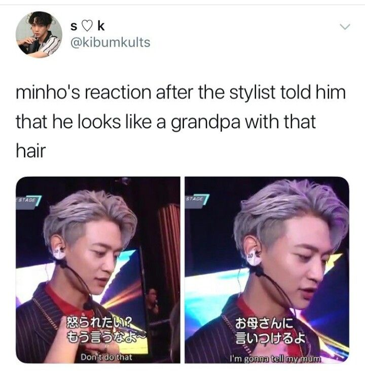 How dare u, I loved his hair like that! << after almost a decade has passed and after all his hairstyles this is by far one of his prettiest! How could she?!?!