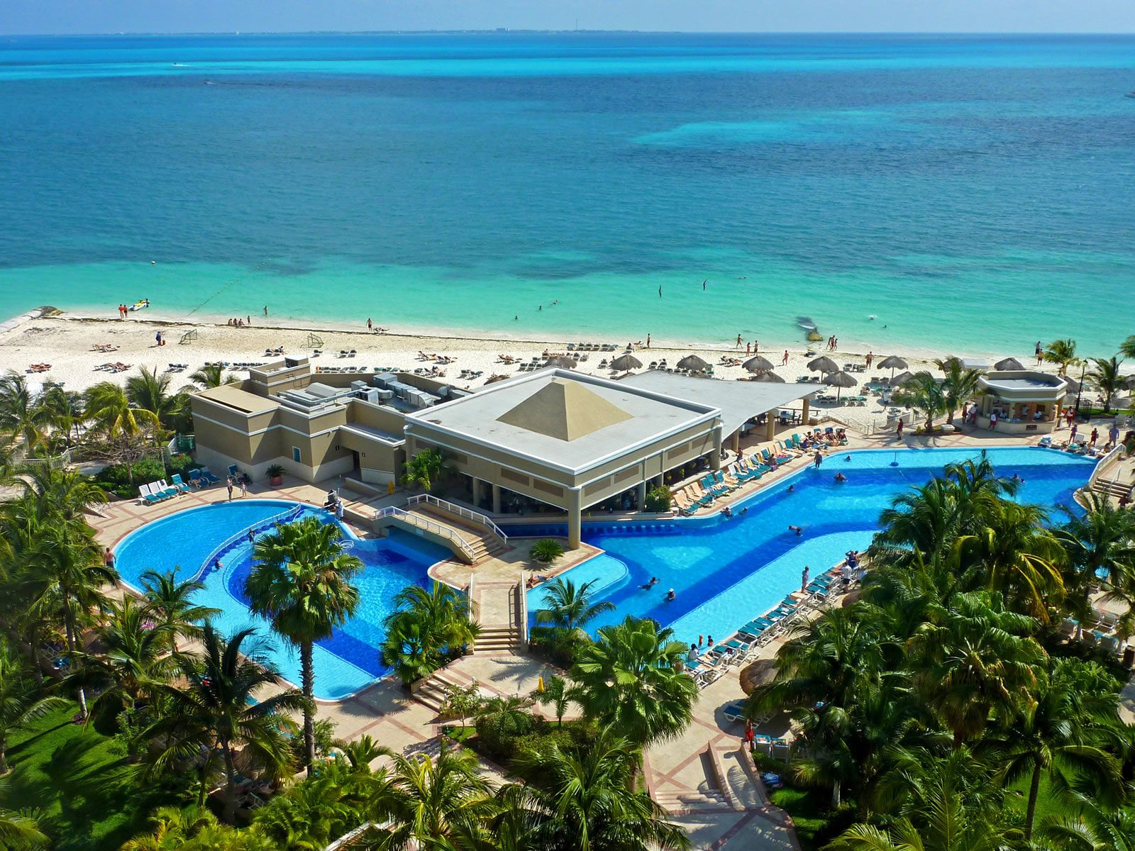 Cancun Mexico Caribbean Beach Resort Beach Wallpaper Luxury Beach Resorts