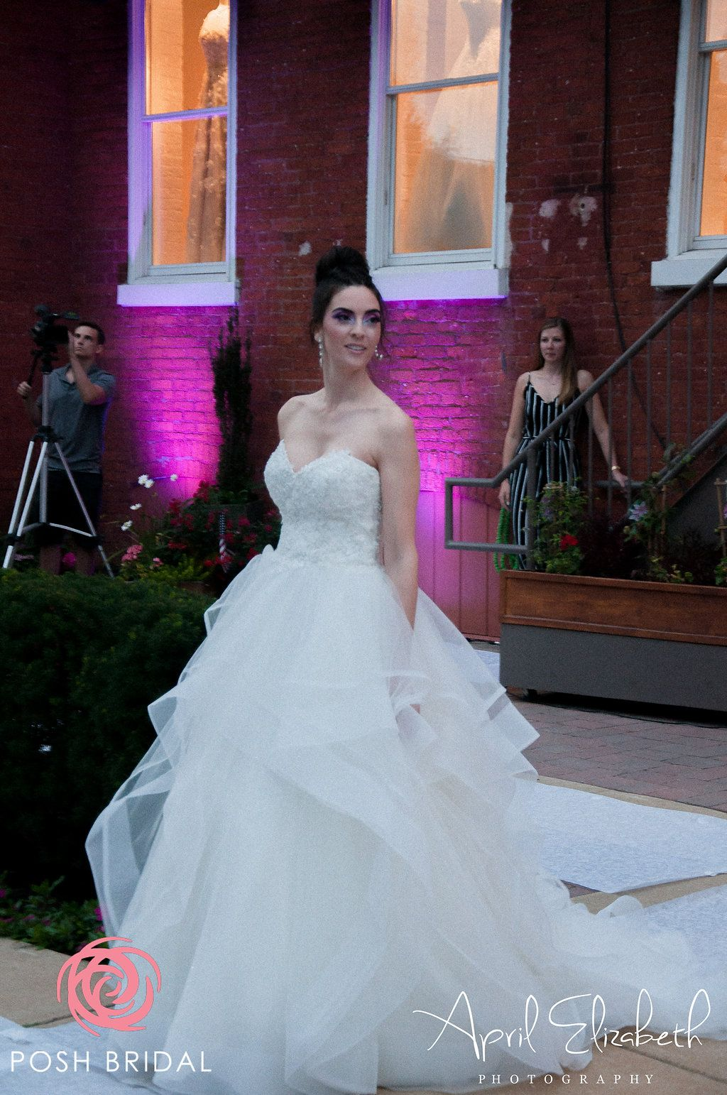 a45fb2525 Randy Fenoli Wedding Gown - Rebecca - Sheer, Sparkling, Beaded Lace Bodice  on a Full Ball Gown Skirt of Flounced Layers of Tulle, Trimmed with  Horsehair and ...