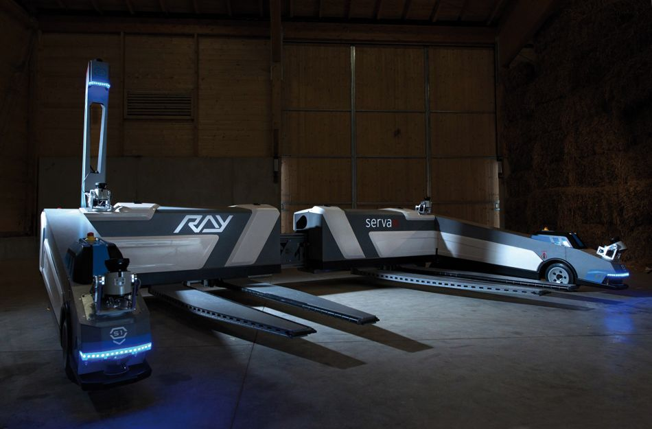 dusseldorf airport receives RAY robotic parking system by