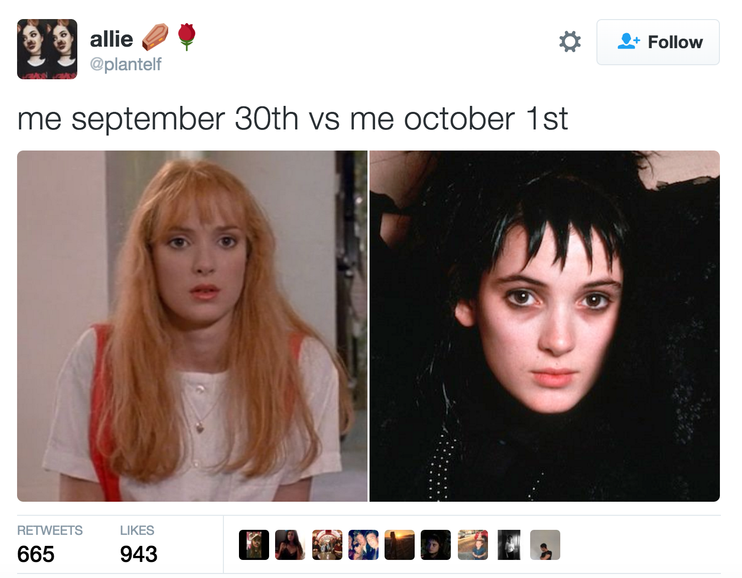17 Of The Funniest Tweets About September 30th Vs October 1st Funny Tweets October Memes October 1