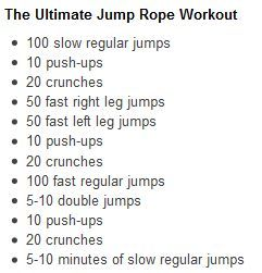 If you think Jumping Rope sounds easy and fun, you are right, but it also tones the entire body, improves your cardiac conditioning, and helps you lose weight.   Did this this morning.  It was great.