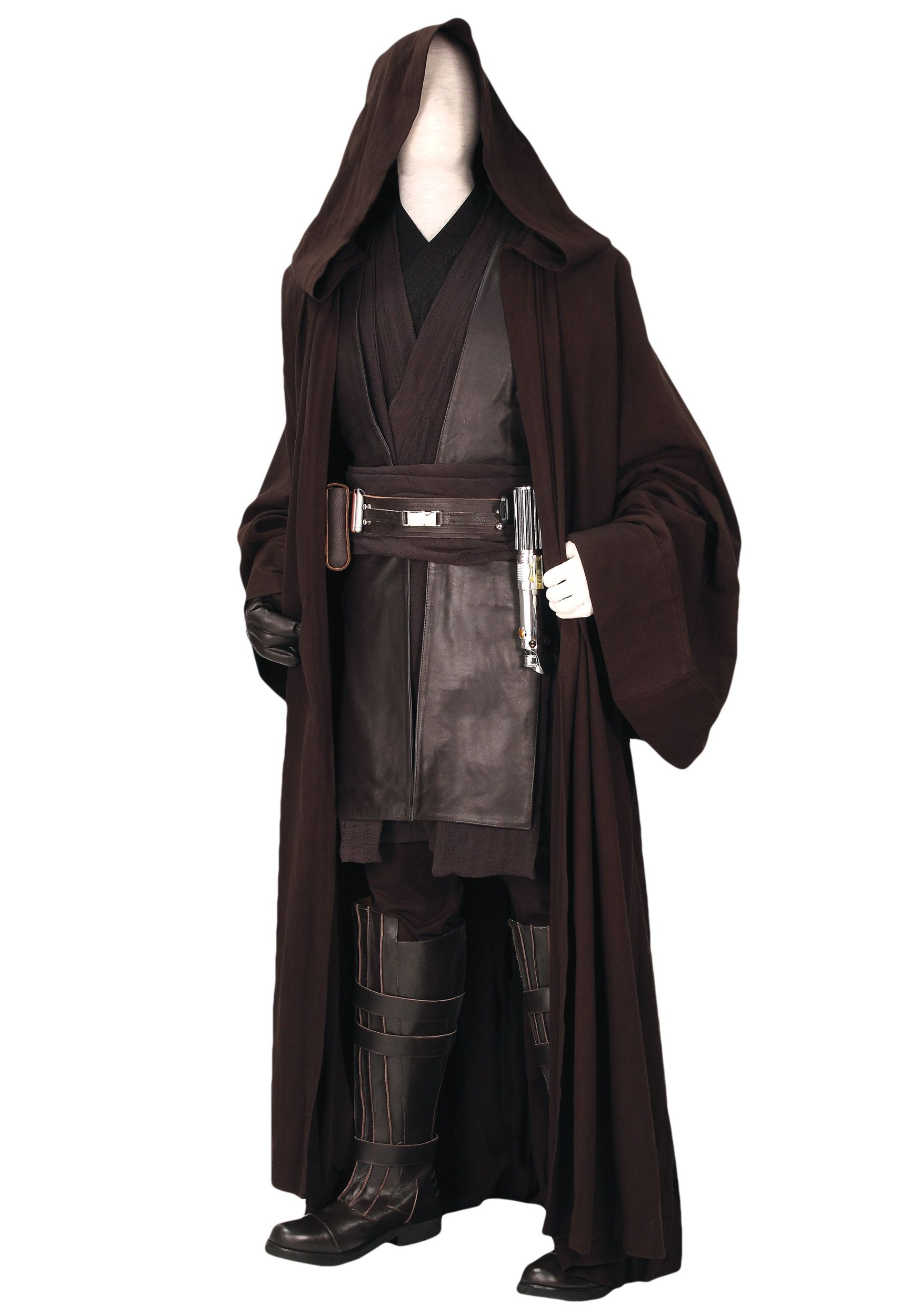 Star Wars Anakin Adult Gauntlet Dark Brown Costume