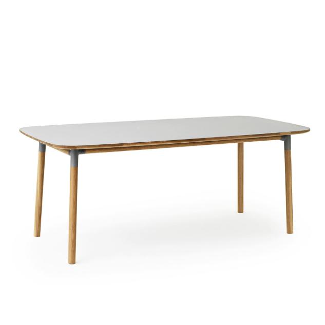 Form pöytä 200x95, kuusi väriä