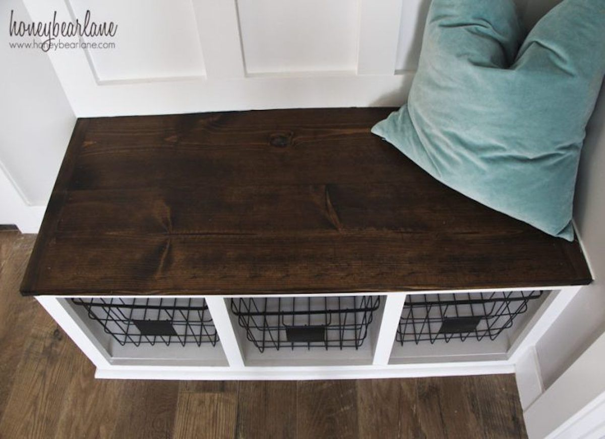 12 Doable Designs For A Diy Bench Diy Mudroom Bench Diy Storage