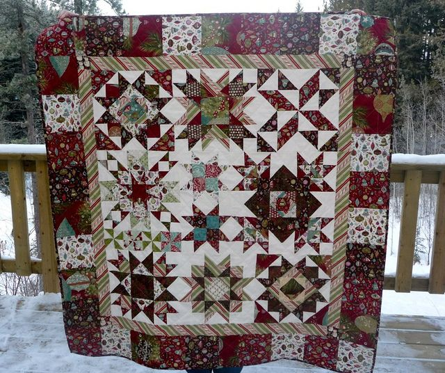 Christmas Star Quilt | Flickr - Photo Sharing!