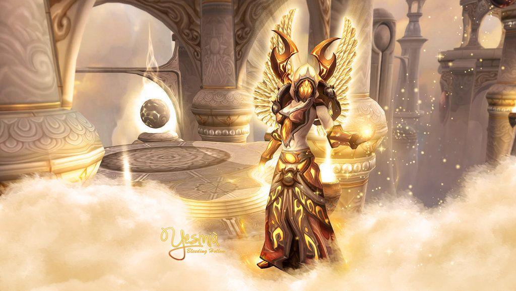 Yesinia Wallpaper By Shyama88 On Deviantart World Of Warcraft Paladin Warcraft World Of Warcraft