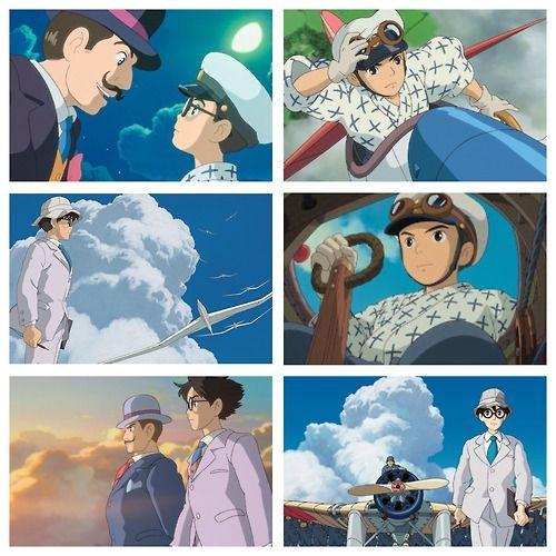 "Hayao Miyazaki's ""The Wind Rises""."