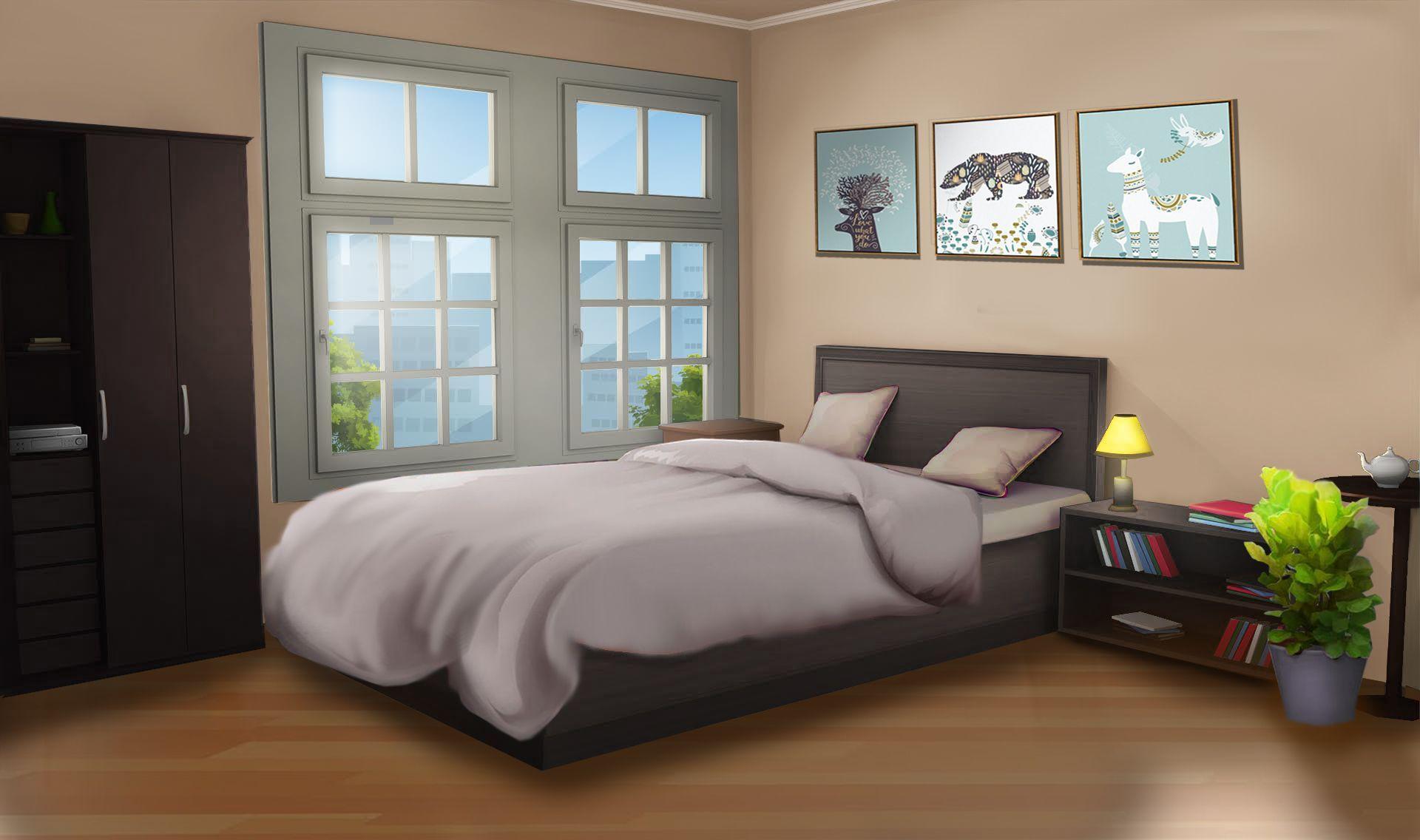 Aesthetic Bedroom Gacha in December 2020