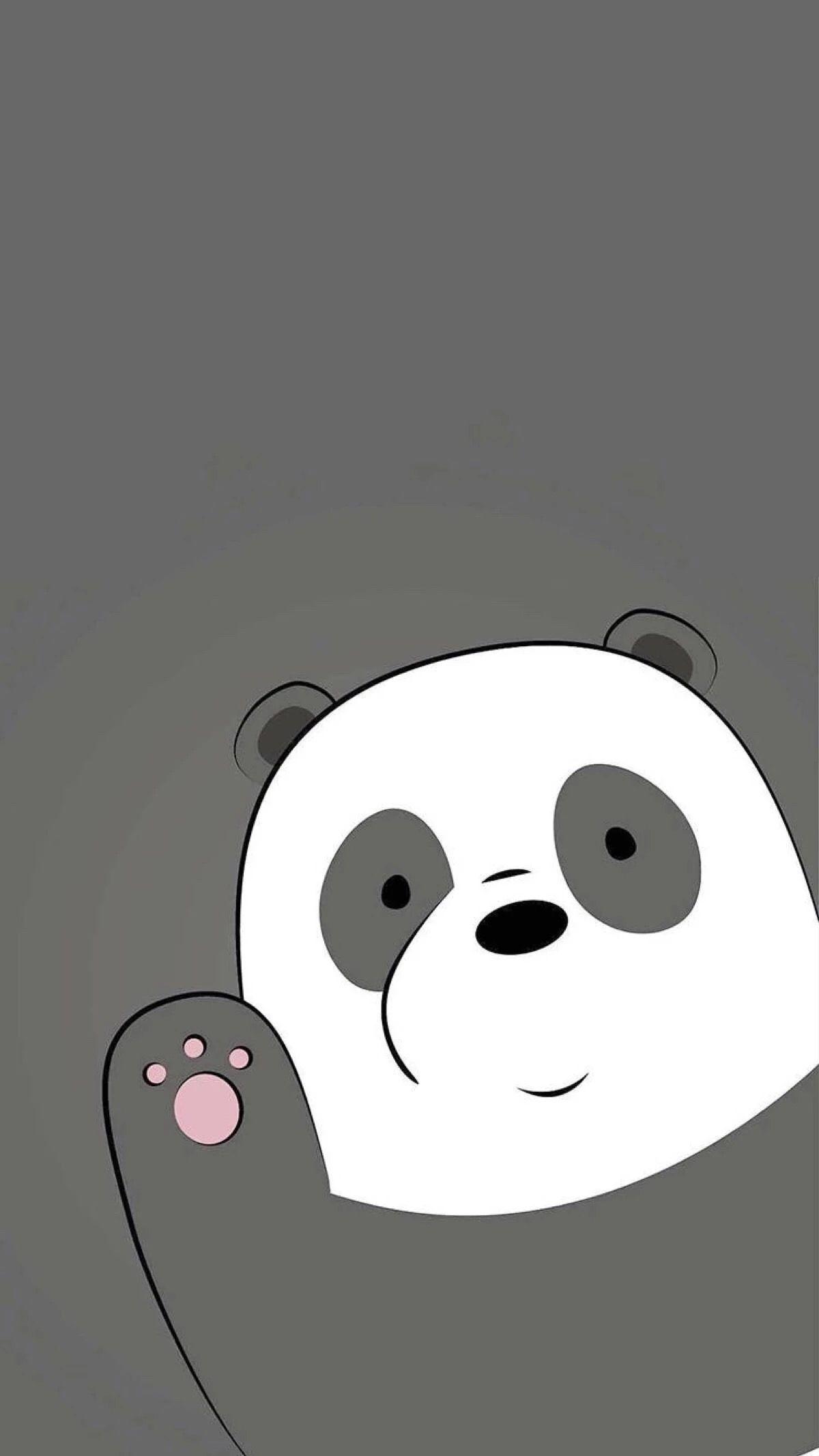 We Bare Bears Wallpaper Beruang Kutub Kartun Ilustrasi Lucu
