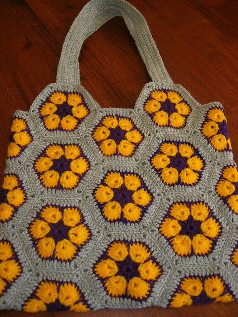 1675.- Patrones de ganchillo: African Flowers | Labores en Red ...