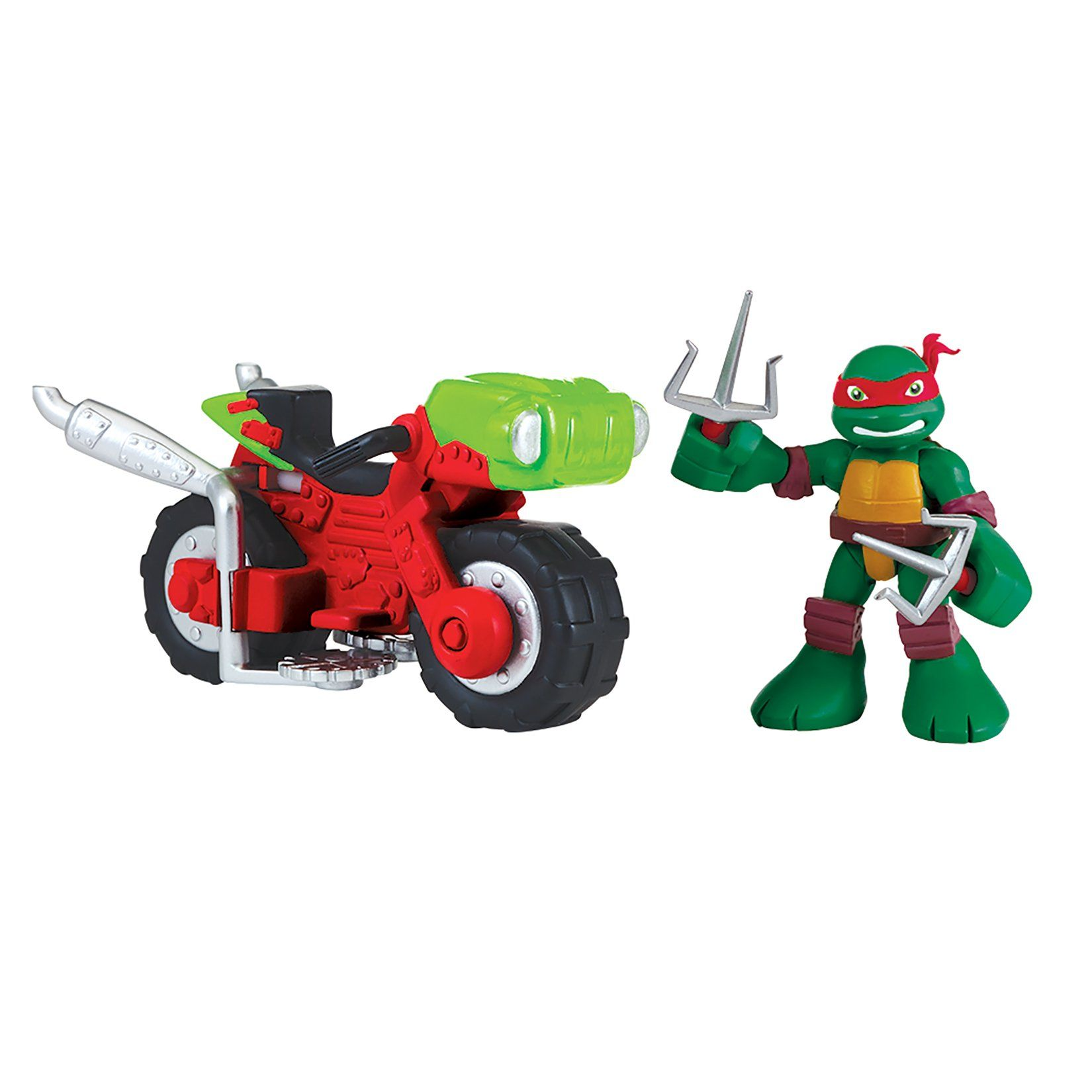 Nickelodeon Teenage Mutant Ninja Turtles TMNT Stealth Bike Raphael Action Figure