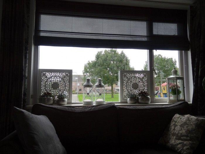 raam decoratie tegen inkijk  Ideen voor het huis in 2019