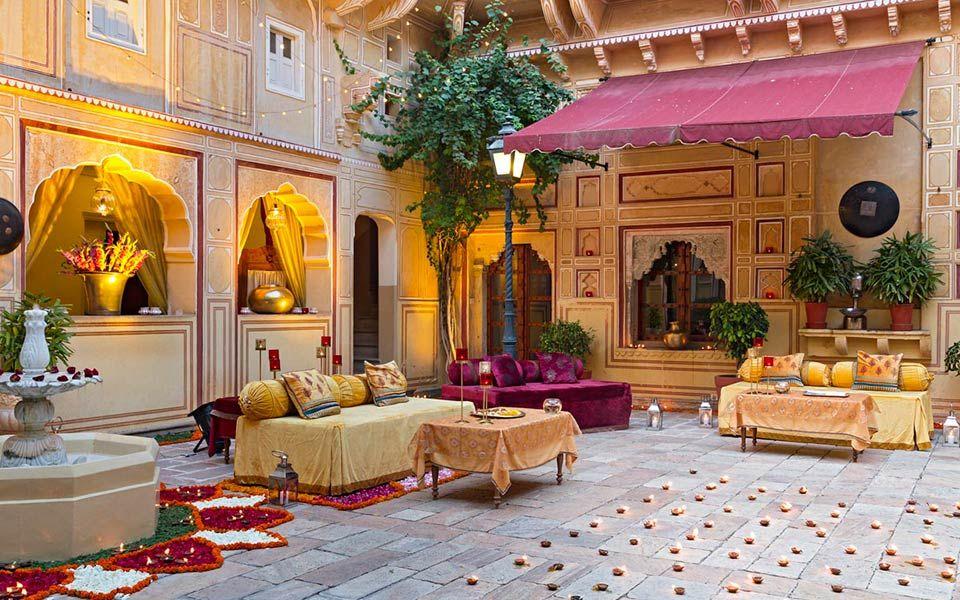 Weddings and Celebrations Samode Palace Best wedding