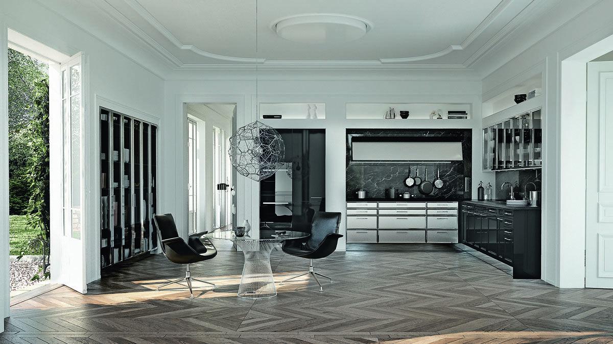 SieMatic Classic - modèle Beaux Arts | Design de cuisine de luxe, Cuisine luxe, Cuisines design