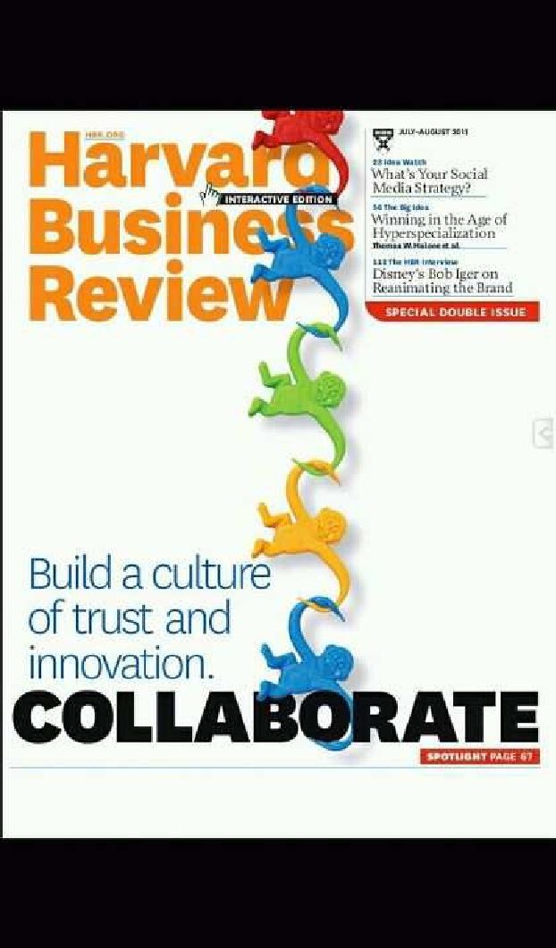 Harvard Business Review Collaborate Clever Classroom Ideas - business review