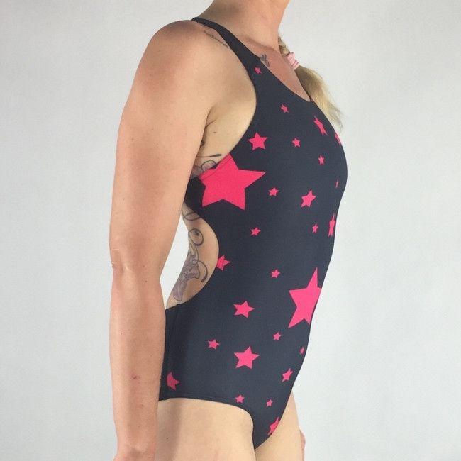 15f4519bf91385 Jiakina Swimsuit Onepiece Women Stars #jiakina #jiakinasports #swim ...