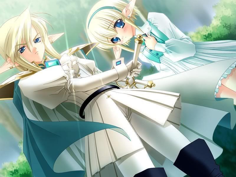 Gallery For Anime Twins Boy Girl Chibi Anime Anime Elf Anime Images