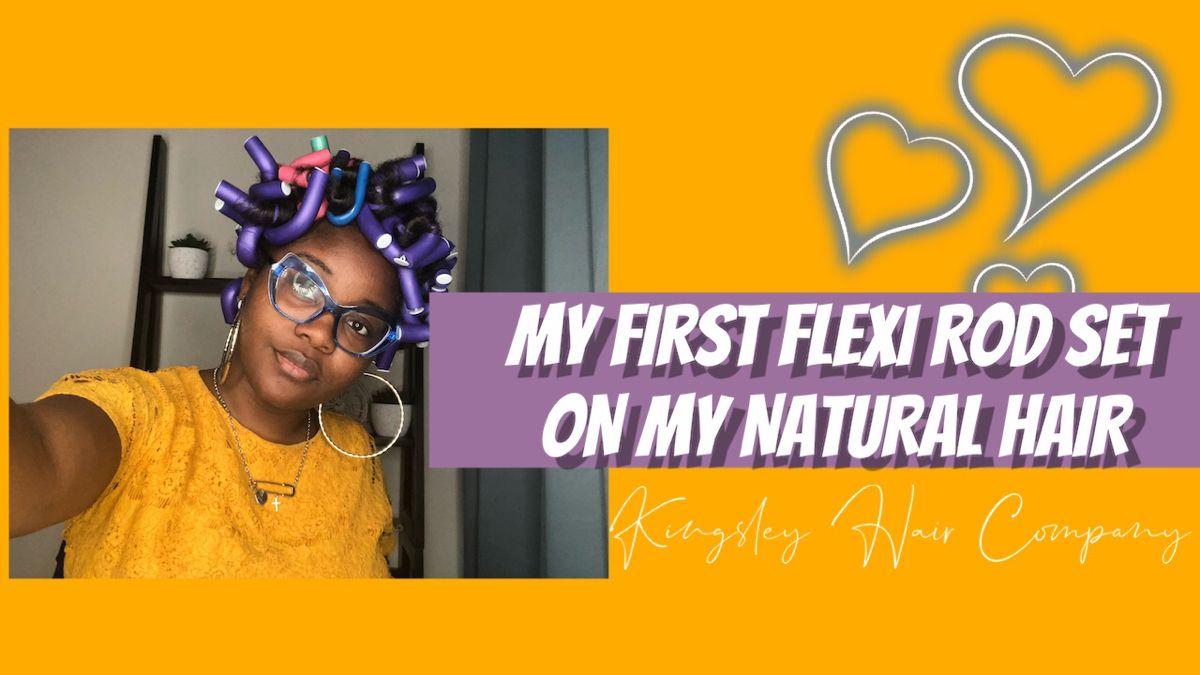 #Diy #naturalhairstyles #heatfreestyles #protectivestyles #NaturalHairStyles #flexirods #crochet #wakandaforever